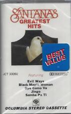 SANTANA'S GREATEST HITS Evil Ways Black Magic Woman Jingo  NEW CASSETTE