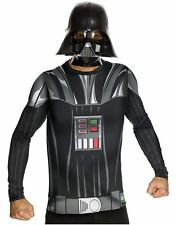 Darth Vader NEW STAR WARS Adults HALLOWEEN Costume Top Cape Mask SZ XL 40-42