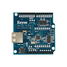 USB Host Shield Supporting Google Android ADK for Arduino phone