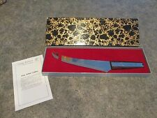 VTG Vernco KING ARTHUR Inlaid Stainless Cutlery Knife by Vernon Co w/ Box