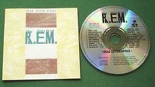 R.E.M. Dead Letter Office inc There She Goes Again & King of The Road + CD