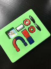 Magnets field teaching education tool set  horseshoe magnet + ring magnet Toy