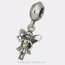 Authentic Pandora Sterling Silver & 14Kt Fairy Tale Bead 791032