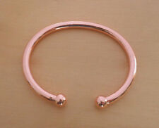 Pure Heavy Solid Copper Torque Bracelet Bangle ARTHRITIS PAIN RELIEF