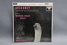 Decca wideband SXL 2062 Ansermet Ravel Goose Debussy Nocturnes ED1 but no groove