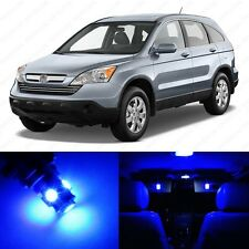 6 x Ultra Blue LED Interior Lights Package For 2007 - 2011 Honda CR-V
