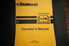 VERMEER R24A TWINRAKE 1997 OEM Operator Owner Operation Manual book guide SHOP