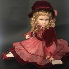 PORCELAIN DOLL EMMA HOUSE OF LLOYD CHRISTMAS AROUND THE WORLD