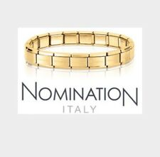 Nomination Bracelet 13 Links Yellow Gold Steel RRP £39.95