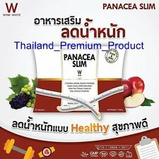 PANACEA SLIM ( W PLUS) For Weight Lose 30 Capsules Diet Block Burn Healthy Slim