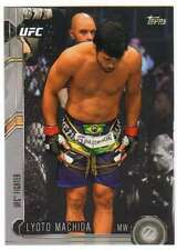 2015 Topps UFC Chronicles Silver Parallel #43 Lyoto Machida