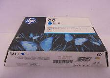 HP C4846A Nr. 80 Tintenpatrone cyan 350ml Designjet 1050c 1055cm MHD 6/2015