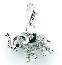Cristal & Esmalte Elefante clip en encanto