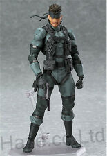 Metal Gear Solid Snake Action Figure Kids Doll Cosplay with Box 6""