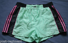 ADIDAS SHORTS Glanz Sprinter Nylon Shiny Boxer D7 Retro Vintage Sporthose Gay 80