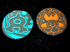 Team Aqua + Team Magma Coins Set Pokemon XY 2015 Double Crisis