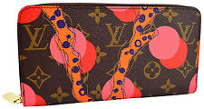LOUIS VUITTON Monogram Canvas ZIPPY RAMAGES Women's Wallet LIMITED EDITION