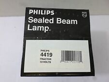 New Surplus Philips Seal Beam Lamp 4419 Tractor 12 Volts