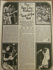 The Bay City Rollers, Full Page Vintage Clipping