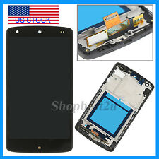 LCD Display+Digitizer Touch Screen Assembly+Frame for LG Google Nexus5 D820 D821
