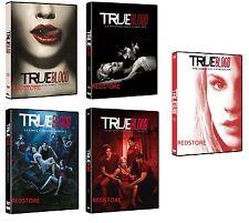 True Blood - Stagioni 1,2,3,4 e 5  in DVD Cofanetti Singoli (25 DVD) Sigillati