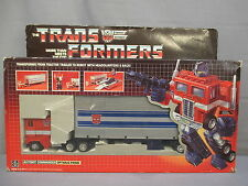"Transformers G1 ""OPTIMUS PRIME 100% Complete w/ Box Original 1984 Vintage"