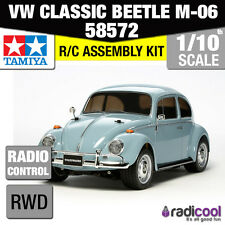 58572 TAMIYA VW Classic Beetle m-06 1/10th Kit R/C RC auto 1/10 NUOVO!