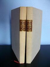 VIEUX PAPIERS DU TEMPS DES ISLES 2 VOL.  BESSON - 1930 BIBL. Colonel Milon
