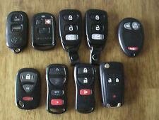 LOT OF 9 OEM Key Fobs - USED Condition Keyless Remote Transmitters