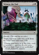 4x 4 x Witness the End x 4 Common Oath of the Gatewatch MTG Magic