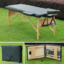 "Soozier 2.5"" Thick Portable Massage Table Foldable Adjustable Salon Bed Spa Bag"