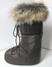 Tecnica MOON BOOT Romance braun Gr. 39 - 41 Moon Boots Kunstfell Fell fake fur