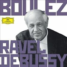 Boulez Conducts Debussy & Ravel, New Music