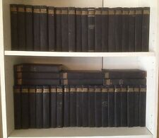 "Set of 47 ""World's Greatest Literature"" 2.5 Shelves 1900-01 Instant Library Rare"