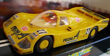 Scalextric C272 Porsche 962 - Yelllow - 'From A' #27- Rare Car - Brand New Boxed