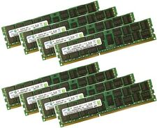 8x 16GB 128GB RDIMM ECC 1600Mhz DDR3 RAM f DELL PRECISION Workstation T7500