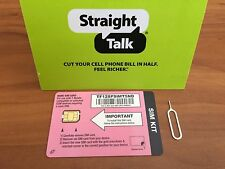 Straight Talk T-Mobile Nano SIM CARD Or Unlocked GSM iPhone 6s+ 6s 6+ 6 5s 5c 5