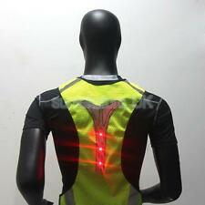 High Visibility Adjustable Safety Security Reflective Vest Jacket Gear & LED