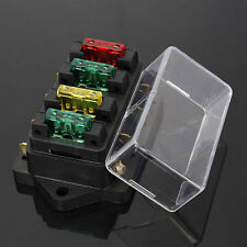 4 way Fuse Circuit Standard ATO Blade With Box / Holder – 12v & 24v Universal