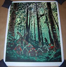 Tim Doyle Three Apples High Smurfs Art Print Numbered of 100 UnReal Estate 3