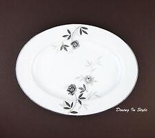 "11"" Oval Serving Platter, SUPERB! Rosamor, Noritake, 5851S, 5851"