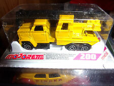 MAJORETTE MADE IN FRANCE SERIE 200 GMC CAMION GRUE NEUF SS BLISTER