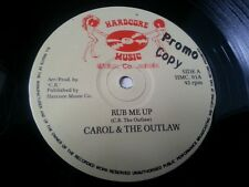 CAROL & THE OUTLAW - RUB ME UP