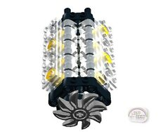 LEGO Technic - V-8 Engine Kit w/Fan - Transparent - (Motor)
