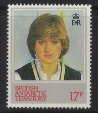 [JSC]1982 British Antarctic Territory 21st Birthday Princess Diana 17p SG110