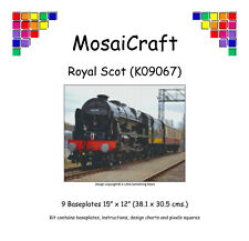 MosaiCraft Pixel Craft Mosaic Art Kit 'Royal Scot' (Incl. Dove Tail Clips)