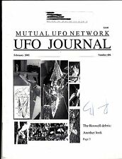 MUFON UFO Journal #406 February 2002 Roswell Debris: Another Look