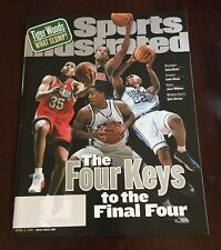 SPORTS ILLUSTRATED APRIL 2,2001 THE FOUR KEYS TO THE FINAL FOUR