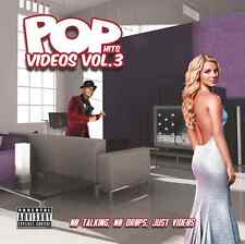 POP VIDEOS VOL. 3 (DVD) - DRAKE-LADY GAGA-KATY PERRY-MAROON 5-JUSTIN TIMBERLAKE