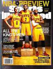 Oct. 27, 2014 LeBron James Kevin Love Kyrie Irving Sports Illustrated NO LABEL